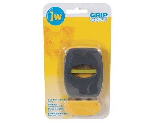 JW GRIPSOFT FLEA AND FINE COMBThe JW Gripsoft Flea and Fine Comb is a 2-in-1 winner for grooming your...