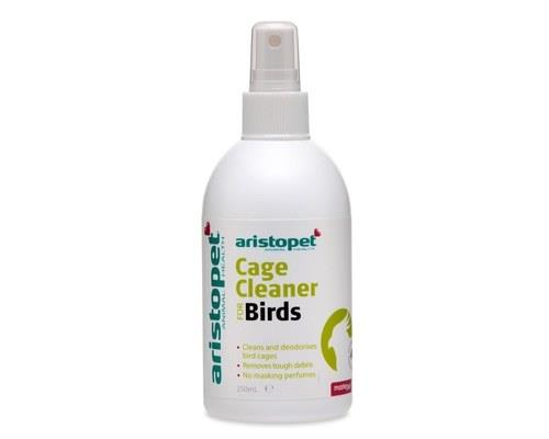 Aristopet Bird Cage Cleaner Spray, 250mlThis bird cage cleaner comes ready to use with no need to...