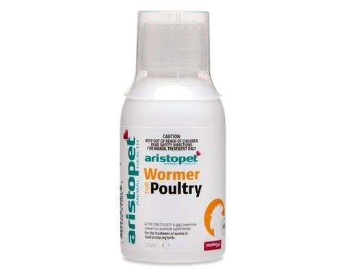 Aristopet Poultry Wormer, 125mlAll birds can pick up worms during their lifetime, which is why it's...