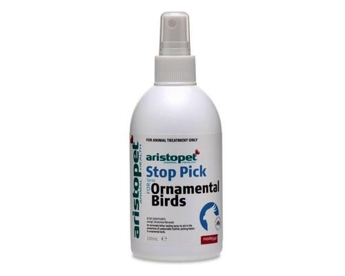 Aristopet Bird Stop Pick Spray, 250mlFeather picking in birds can be as a result of stress, boredom...