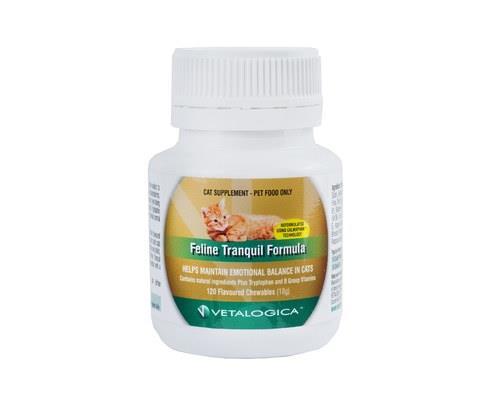 Vetalogica Feline Tranquil Formula, 18gVetalogica Tranquil formula for cats is a supplement that helps...