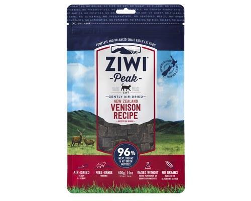 ZiwiPeak Cat Food, 'Daily Cat' Air-Dried Cuisine, Venison, 400gThis premium ZiwiPeak cat food contains...