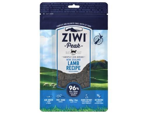 ZiwiPeak Cat Food, 'Daily Cat' Air-Dried Cuisine, Lamb, 400gThis premium ZiwiPeak cat food contains...