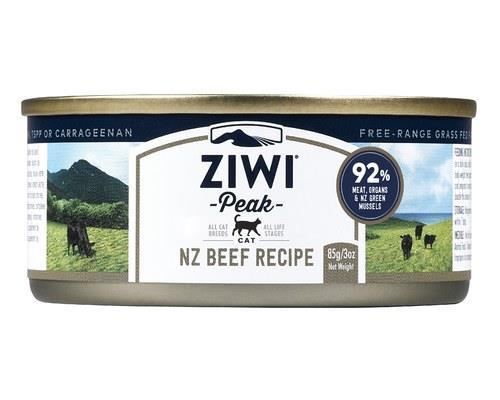 ZiwiPeak Cat Food, 'Daily Cat' Moist Cuisine, Beef, 85gThis premium ZiwiPeak cat food contains 100%...