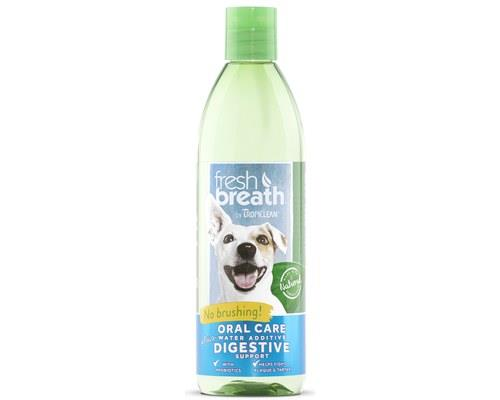 Tropiclean Cat and Dog Breath Freshener +Plus Water Additive with Digestive Support, 473mlTropiclean...