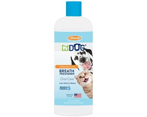 Triple Pet Plaque Off Fresh Breath Water Additive, 473mlDesigned to be part of your dog's oral care...