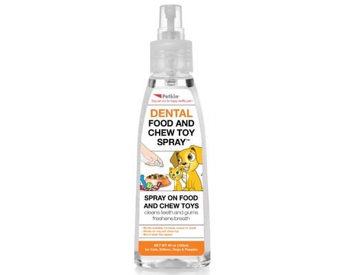 PETKIN DENTAL FOOD AND CHEW TOY SPRAY - 120MLDoes your pet need a little extra help cleaning their...