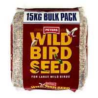 Peters Wild Bird Seed Large Birds 15kg Pet: Bird Category: Bird Supplies  Size: 15kg  Rich Description:...