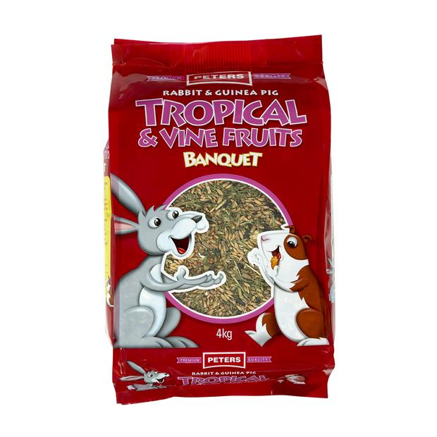 Peters Tropical And Vine Fruits 4kg Pet: Small Pet Category: Small Animal Supplies  Size: 4kg  Rich...
