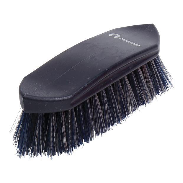 Zilco Gymkhana Plastic Back Dandy Brush Each Pet: Horse Size: 0.2kg Colour: Blue  Rich Description:...