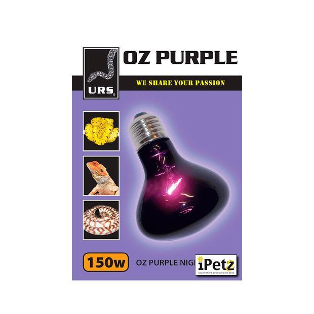 Urs Oz Purple Night Heat And Light 150w Pet: Reptile Category: Reptile & Amphibian Supplies  Size:...
