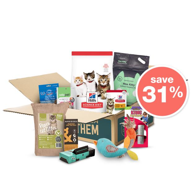 The Kitten Everyday Box Hills Science Diet Each Pet: Cat Category: Cat Supplies  Size: 6kg  Rich...