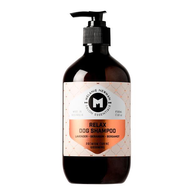 Melanie Newman Salon Essentials Relax Dog Shampoo 500ml Pet: Dog Category: Dog Supplies  Size: 0.6kg...