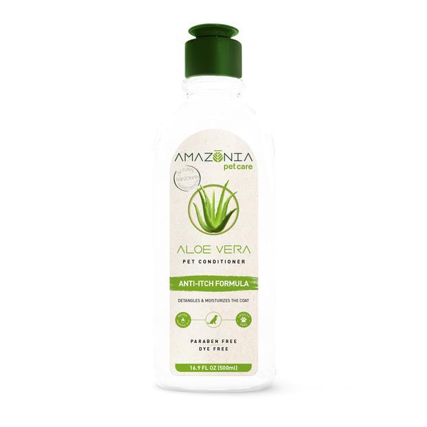 Amazonia Conditioner Aloe Vera 500ml Pet: Dog Category: Dog Supplies  Size: 0.6kg  Rich Description:...