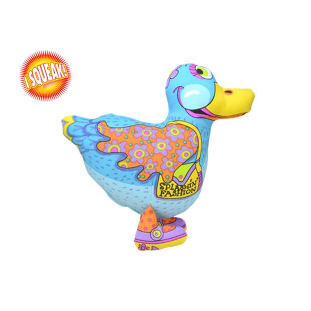 Petstages Madcap Splashin Fashion Duck Each Pet: Dog Category: Dog Supplies  Size: 0.1kg Colour: Multi...
