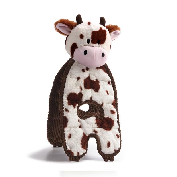 Charming Pet Cuddle Tugs Cow Each Pet: Dog Category: Dog Supplies  Size: 0.1kg Colour: Multi  Rich...