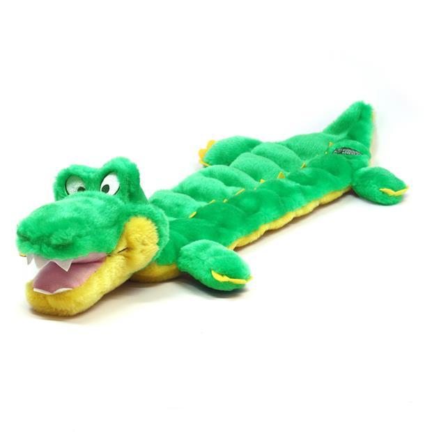 Outward Hound Squeaker Matz Gator Each Pet: Dog Category: Dog Supplies  Size: 0.2kg Colour: Multi  Rich...