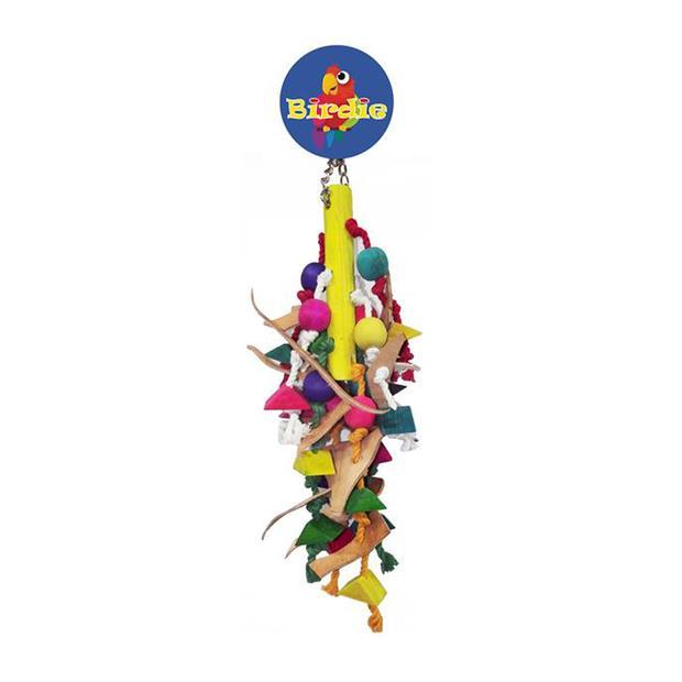 Birdie Jumbo Leather Beads Display Each Pet: Bird Category: Bird Supplies  Size: 0.2kg  Rich...