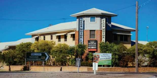 CLUB MOTOR INN, MARRABRI NSW  
