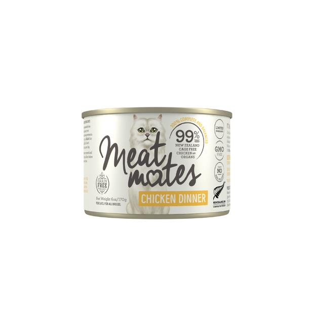 Meat Mates Grain Free Chicken Dinner Wet Cat Food Cans 24 X 85g Pet: Cat Category: Cat Supplies  Size:...