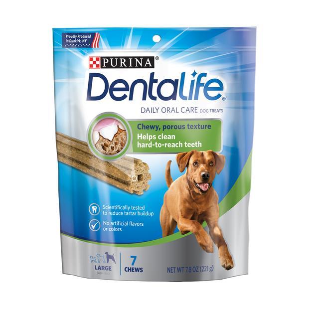 Dentalife Large Dog Treats 221g Pet: Dog Category: Dog Supplies  Size: 0.2kg  Rich Description:...