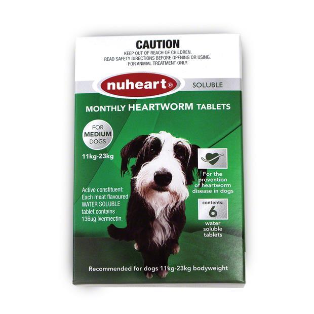 Nuheart Medium Dog Green 6 Pack Pet: Dog Category: Dog Supplies  Size: 0.1kg  Rich Description: Nuheart...