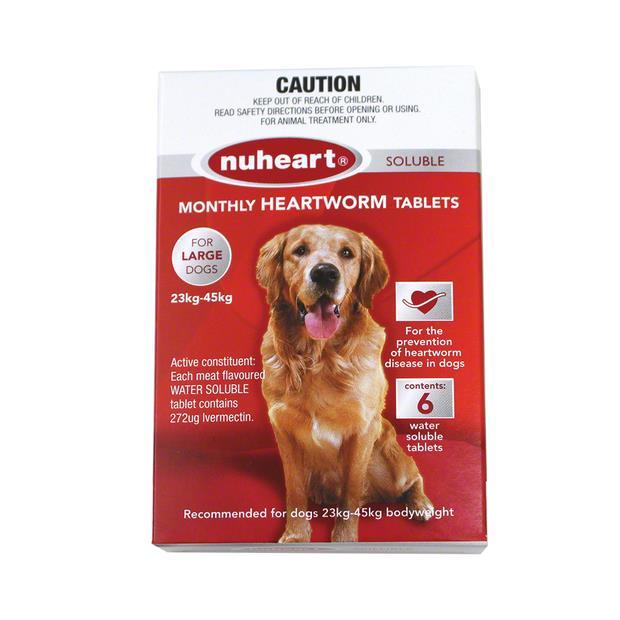 Nuheart Large Dog Red 6 Pack Pet: Dog Category: Dog Supplies  Size: 0.1kg  Rich Description: Nuheart is...