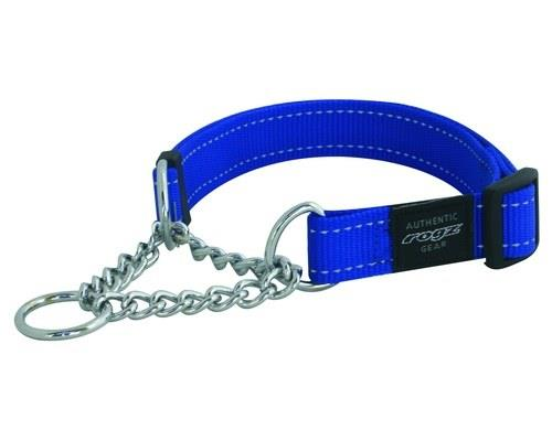 ROGZ LUMBERJACK OBEDIENCE COLLAR BLUE REFLECTIVE EXTRA LARGERogz are known to provide you with the...