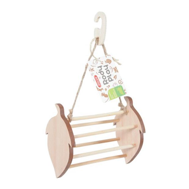 Zolux Rody Play Wooden Rack Hazelnut Each Pet: Small Pet Category: Small Animal Supplies  Size: 0.8kg...