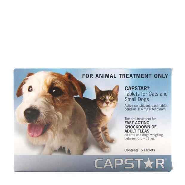 Capstar Blue Small 6 Pack Pet: Dog Category: Dog Supplies  Size: 0.1kg  Rich Description: Capstar...