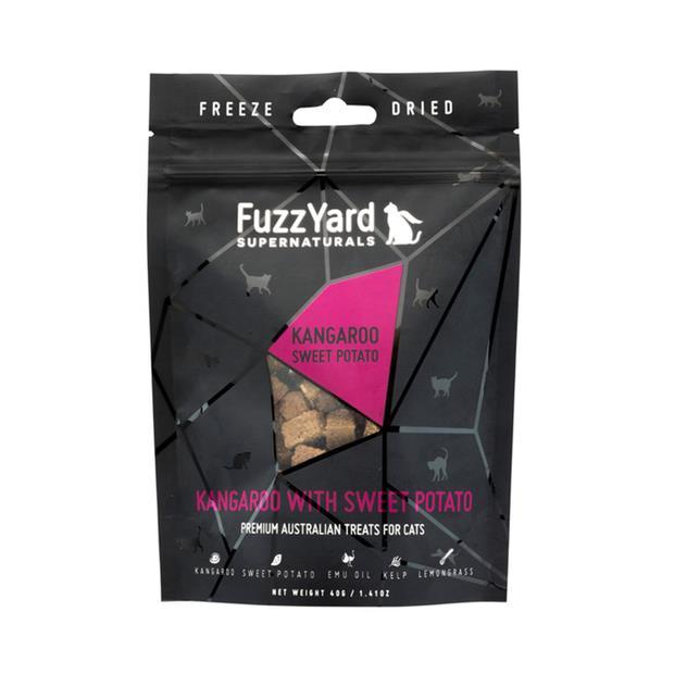 Fuzzyard Supernaturals Cat Treats Kangaroo 2 X 40g Pet: Cat Category: Cat Supplies  Size: 0.1kg  Rich...