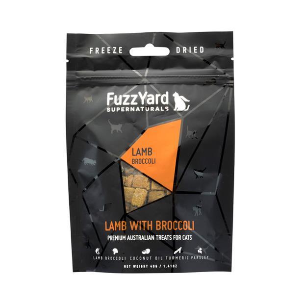 Fuzzyard Supernaturals Cat Treats Lamb 2 X 40g Pet: Cat Category: Cat Supplies  Size: 0.1kg  Rich...