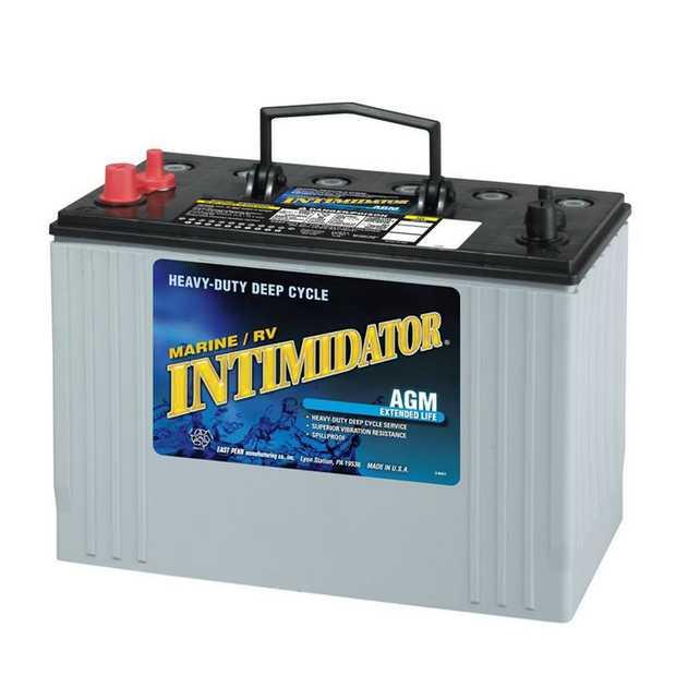 8A31DTM Dual Purpose (DP) Intimidator Marine / RV BatterySpecification: CCA800Ah C20105RC...