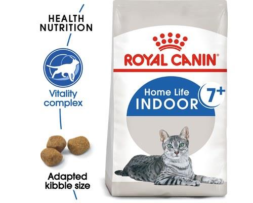 ROYAL CANIN INDOOR 7+ ADULT CAT DRY FOOD 1.5KGRoyal Canin Indoor cat food is suitable for adult cats 7+...