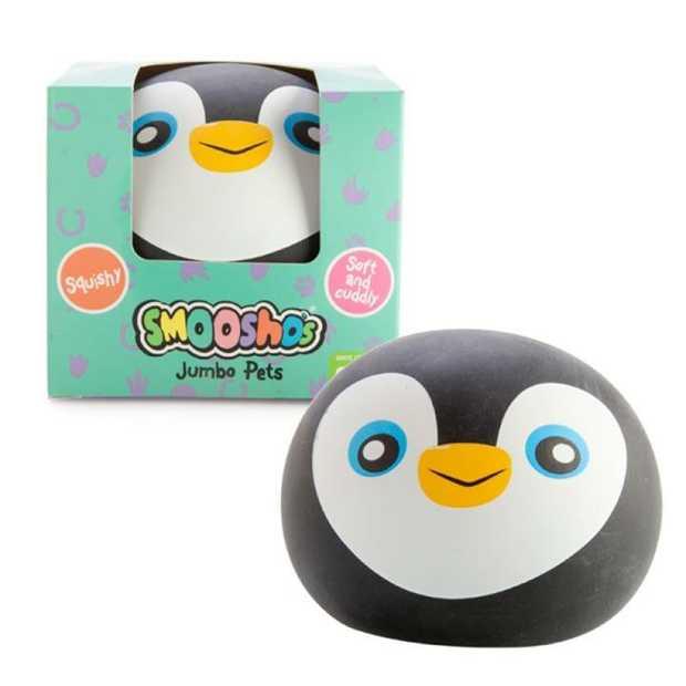 Jumbo-sized Smoosho ball for extra squish!  Features an adorable penguin design  Smoosho's amazing...