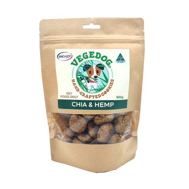 Vege Dog Cookies Chia And Hemp 300g Pet: Dog Category: Dog Supplies  Size: 0.3kg  Rich Description:...