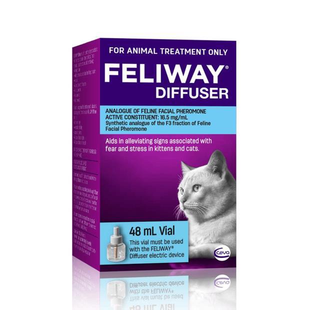 Feliway Refill 48ml Pet: Cat Category: Cat Supplies  Size: 0.1kg  Rich Description: The Feliway...
