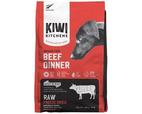 KIWI KITCHENS DOG FREEZE DRIED BEEF DINNER 1.8KGKiwi Kitchens RAW Freeze Dried Food is the ultimate in...