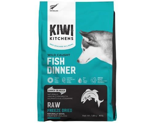 KIWI KITCHENS DOG FREEZE DRIED WHITE FISH DINNER 1.8KGKiwi Kitchens RAW Freeze Dried Food is the...