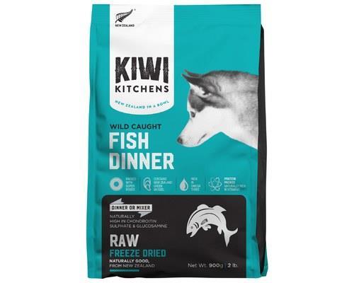 KIWI KITCHENS DOG FREEZE DRIED WHITE FISH DINNER 900GKiwi Kitchens RAW Freeze Dried Food is the...