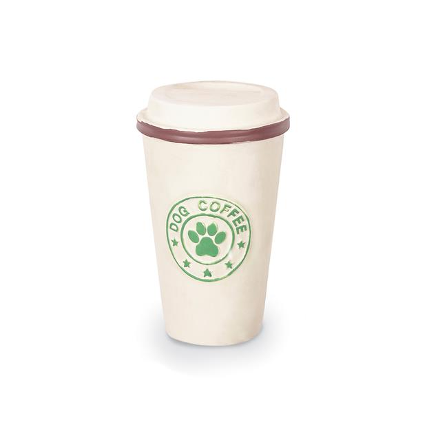 Kazoo Latex Coffee Cup Dog Toy Medium Pet: Dog Category: Dog Supplies  Size: 0.1kg Material: Latex...