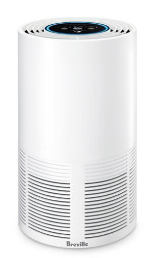 Suitable for rooms from 30 to 40m² Wi-Fi control via the Breville Home Connect App SensAir Live Purity...