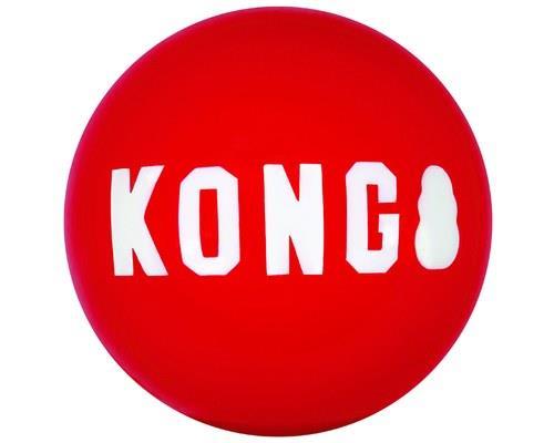 KONG SIGNATURE BALL SMALL 2 PACKThe KONG Signature ball brings ultra-durability and an...