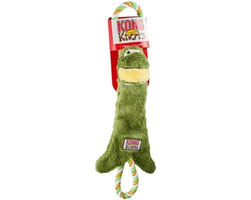 KONG TUGGER KNOTS FROG MEDIUM/LARGEThe KONG Tugger Knots Frog is a tough, interactive tug...