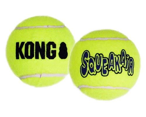 KONG SQUEAKAIR BALL LARGE 2 PACK  The KONG SqueakAir Ball combines two classic dog toys - the...