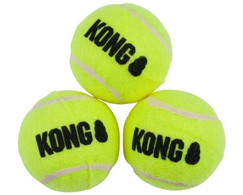 KONG SQUEAKAIR BALL SMALL 3 PACK  The KONG SqueakAir Ball combines two classic dog toys - the...
