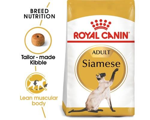 ROYAL CANIN SIAMESE ADULT CAT DRY FOOD 4KGRoyal Canin Siamese is a cat food suitable for adult Siamese...