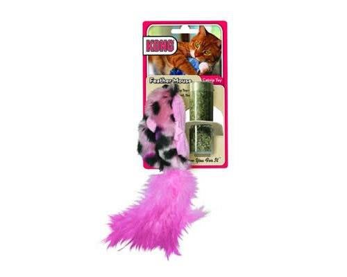 KONG REFILLABLES FIELD MOUSE CATNIP TOY  These soft and snuggly plush catnip toys have a...