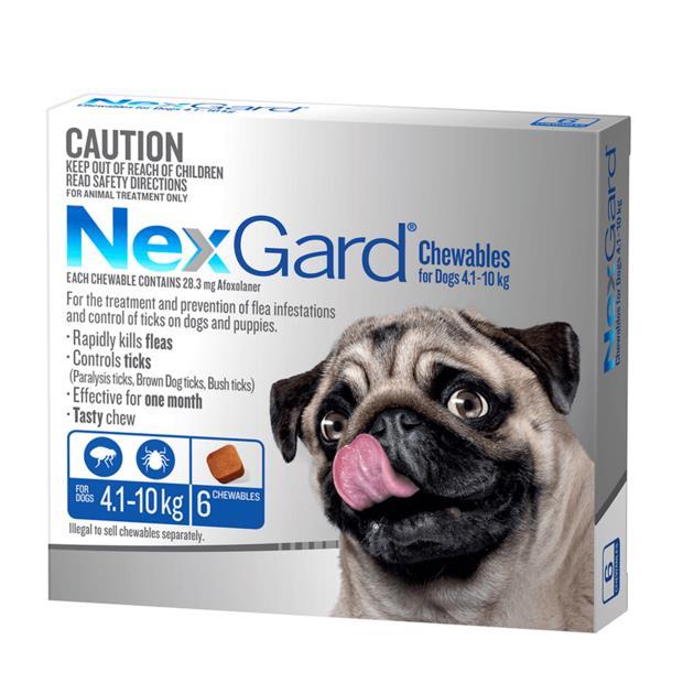 Nexgard Small 6 Pack Pet: Dog Category: Dog Supplies  Size: 0.2kg  Rich Description: Nexgard is a tasty...