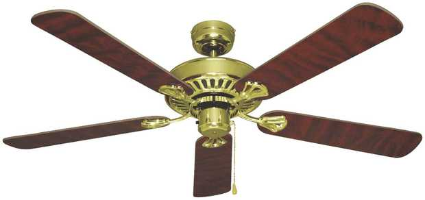 This Mercator ceiling fan's 1300mm blade diameter lets you relax under the perfect-size fan. It has 3...
